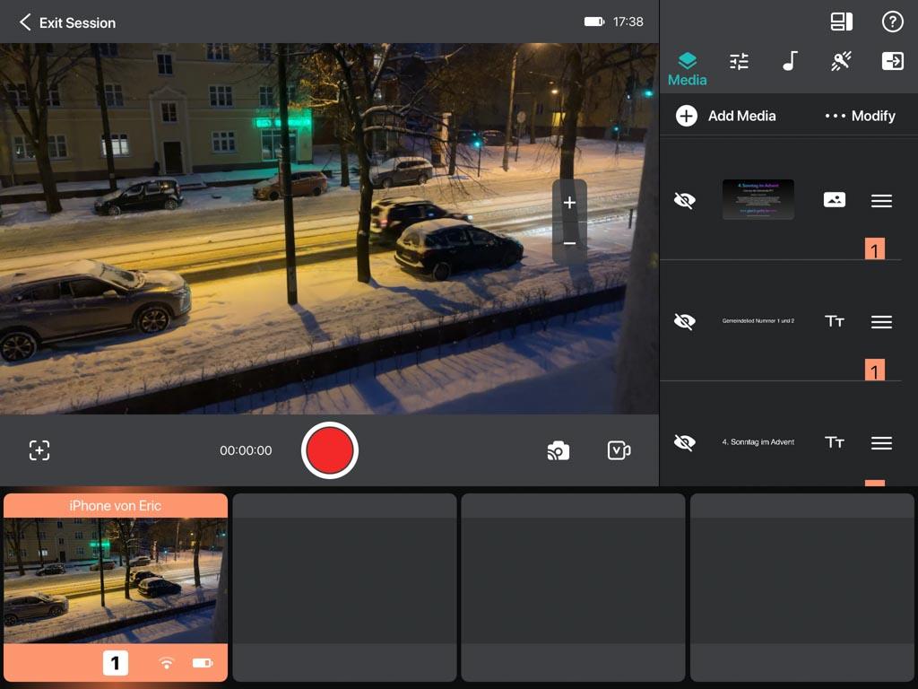 live stream selber machen mit iphone